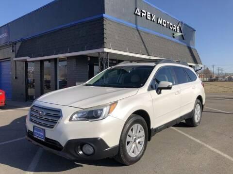 2015 Subaru Outback for sale at Apex Motors in Murray UT
