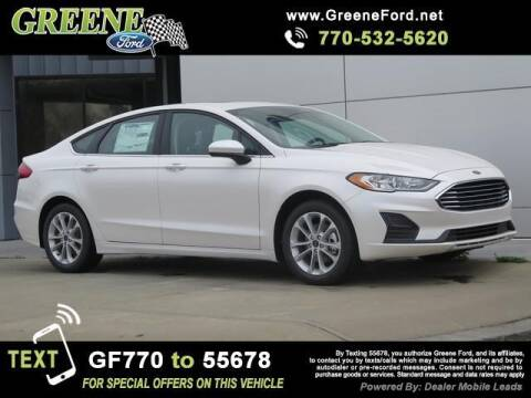 2020 Ford Fusion Hybrid for sale at NMI in Atlanta GA