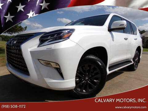 2020 Lexus GX 460 for sale at Calvary Motors, Inc. in Bixby OK