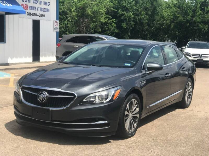 2017 Buick LaCrosse for sale at Discount Auto Company in Houston TX