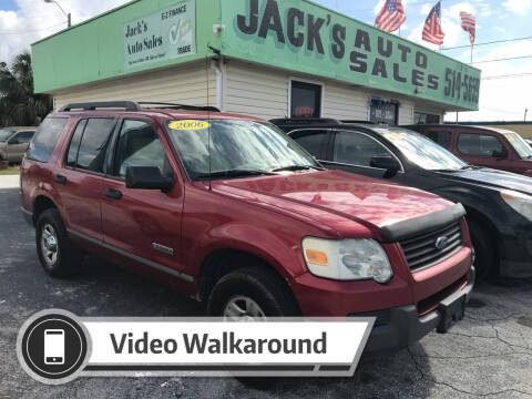 2006 Ford Explorer for sale at Jack's Auto Sales in Port Richey FL