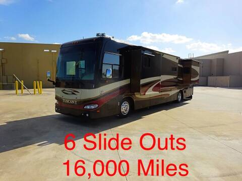2009 Damon Tuscany 40, 6 Slides for sale at Top Choice RV in Spring TX