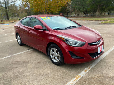 2014 Hyundai Elantra for sale at B & M Car Co in Conroe TX