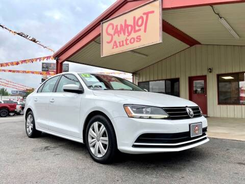2017 Volkswagen Jetta for sale at Sandlot Autos in Tyler TX