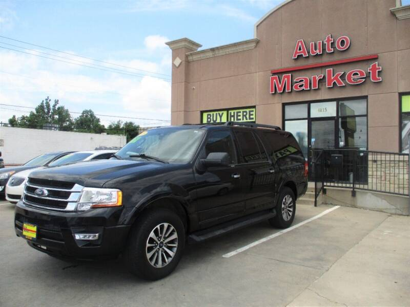 2015 Ford Expedition EL for sale at Auto Market in Oklahoma City OK