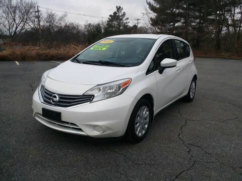 2016 Nissan Versa Note for sale at Westford Auto Sales in Westford MA