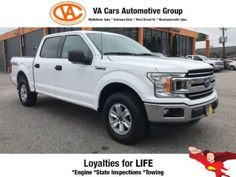 2018 Ford F-150 for sale at VA Cars Inc in Richmond VA