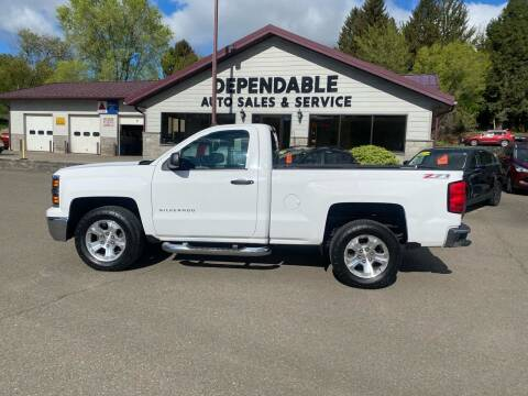 2014 Chevrolet Silverado 1500 for sale at Dependable Auto Sales and Service in Binghamton NY