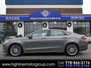 2013 Ford Fusion for sale at Highline Group Motorsports in Lowell MA