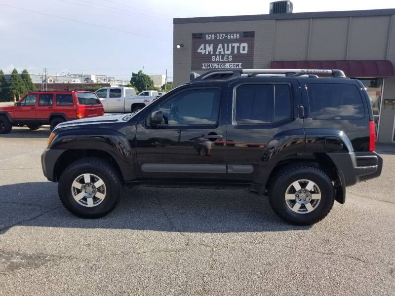 2012 Nissan Xterra for sale at 4M Auto Sales | 828-327-6688 | 4Mautos.com in Hickory NC