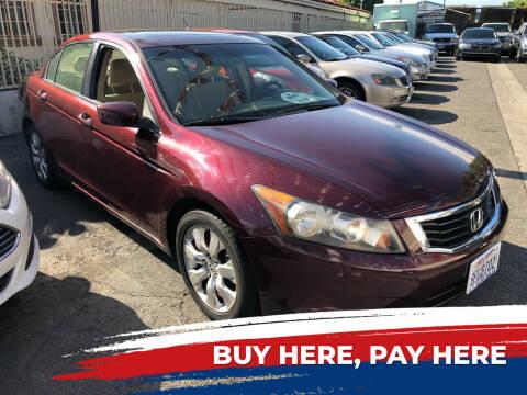 2008 Honda Accord for sale at E.T. Auto Sales Inc. in El Monte CA