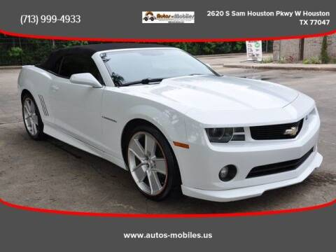 2011 Chevrolet Camaro for sale at AUTOS-MOBILES in Houston TX