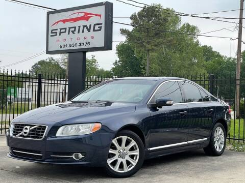 2010 Volvo S80 for sale at Spring Motors in Spring TX