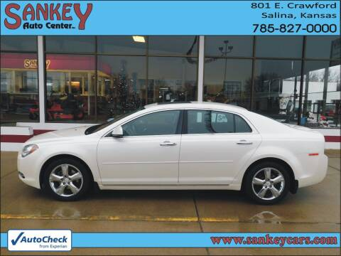2012 Chevrolet Malibu for sale at Sankey Auto Center, Inc in Salina KS