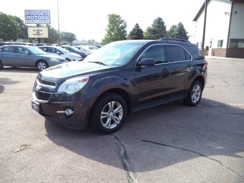 2013 Chevrolet Equinox for sale at Budget Motors - Budget Acceptance in Sioux City IA