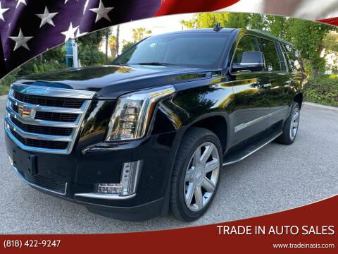 2018 Cadillac Escalade ESV for sale at Trade In Auto Sales in Van Nuys CA