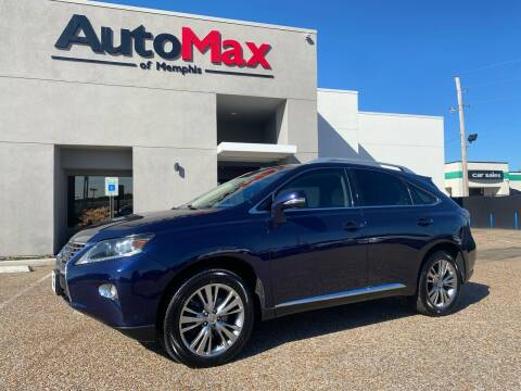 2013 Lexus RX 350 for sale at AutoMax of Memphis - Alex Vivas in Memphis TN