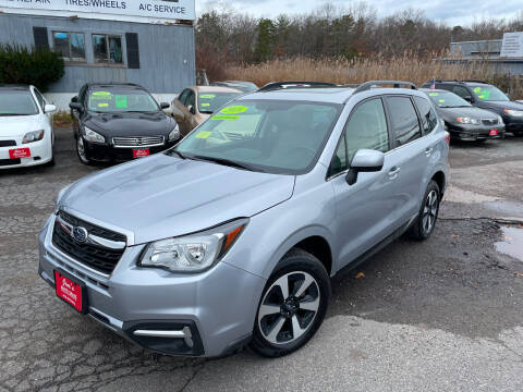 2018 Subaru Forester for sale at Bridge Road Auto in Salisbury MA