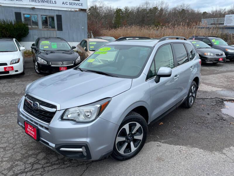 2018 Subaru Forester for sale at Bridge Road Auto in Salisbury MA