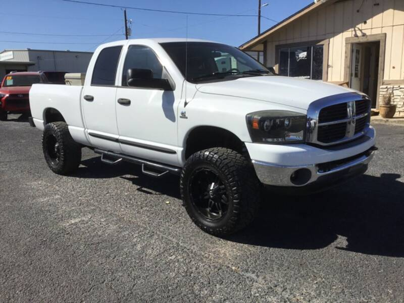 2006 Dodge Ram Pickup 2500 for sale at The Trading Post in San Marcos TX