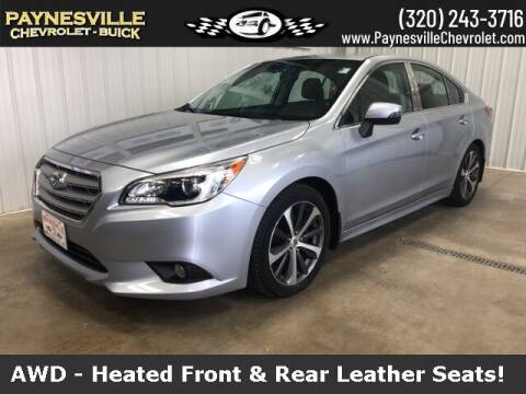 2016 Subaru Legacy for sale at Paynesville Chevrolet Buick in Paynesville MN