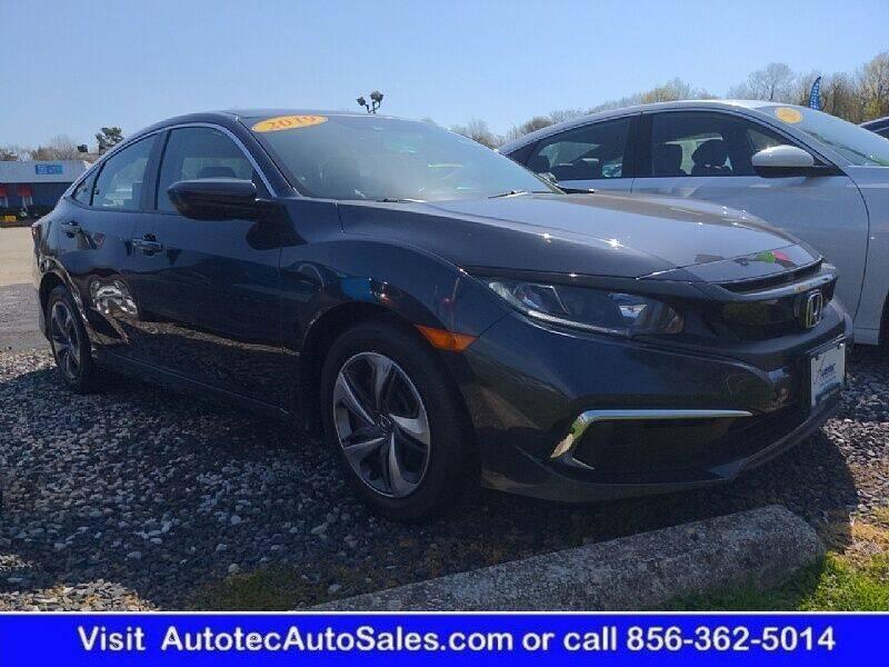 2019 Honda Civic for sale at Autotec Auto Sales in Vineland NJ