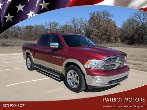 2011 RAM Ram Pickup 1500 for sale at Patriot Motors in Granbury TX