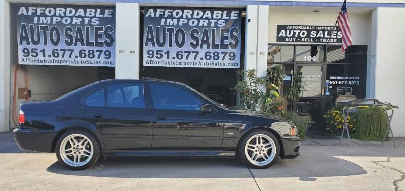2003 BMW 5 Series for sale at Affordable Imports Auto Sales in Murrieta CA