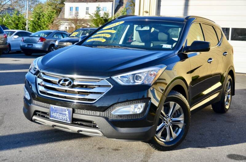 2014 Hyundai Santa Fe Sport for sale at Lighthouse Motors Inc. in Pleasantville NJ