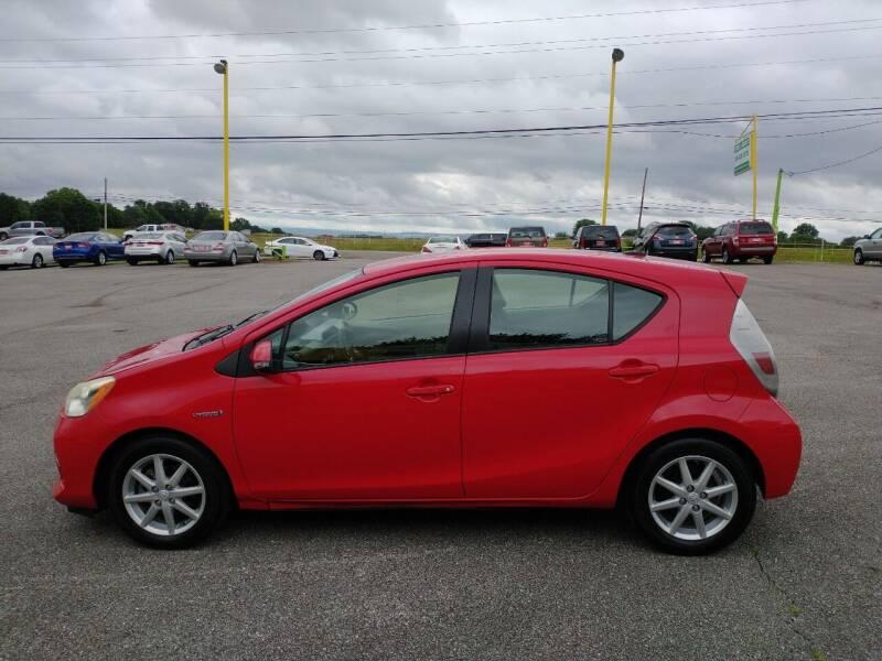 2012 Toyota Prius c for sale at Space & Rocket Auto Sales in Meridianville AL