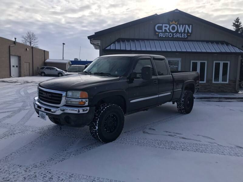 2003 GMC Sierra 1500 for sale at Crown Motor Inc in Grand Forks ND