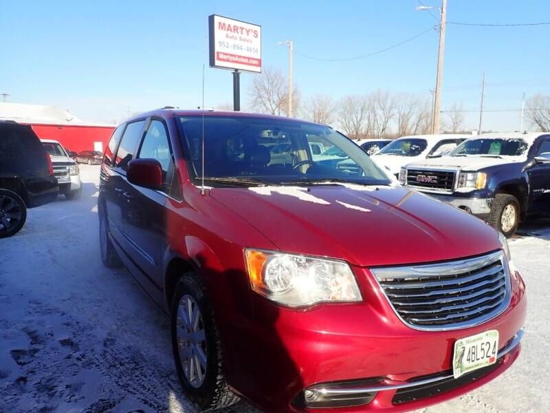 2016 Chrysler Town and Country for sale at Marty's Auto Sales in Savage MN