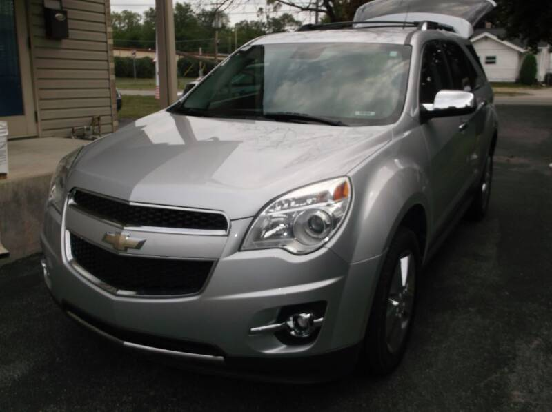 2012 Chevrolet Equinox for sale at Straight Line Motors LLC in Fort Wayne IN
