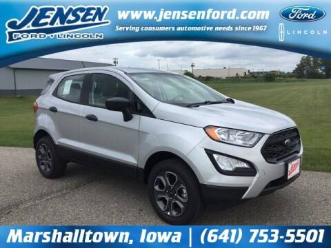 2021 Ford EcoSport for sale at JENSEN FORD LINCOLN MERCURY in Marshalltown IA