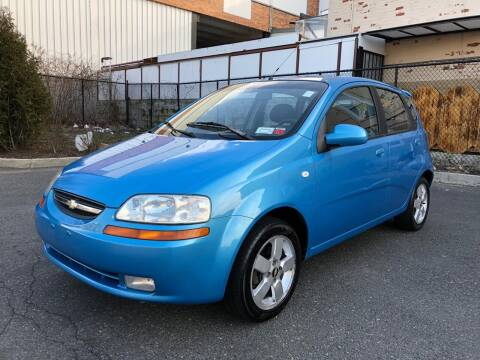 2006 Chevrolet Aveo for sale at JG Auto Sales in North Bergen NJ