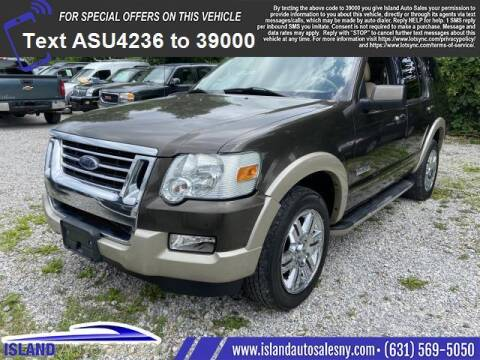 2008 Ford Explorer for sale at Island Auto Sales in East Patchogue NY