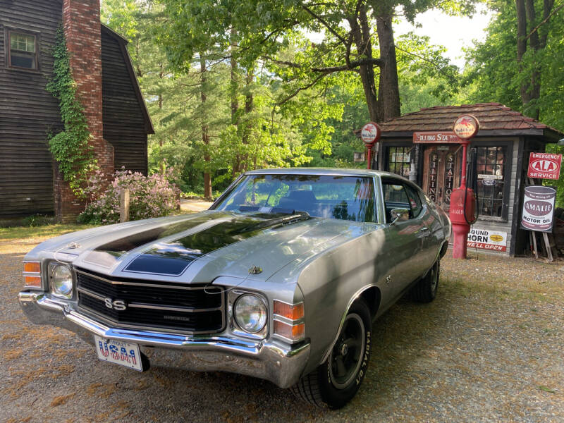 1971 Chevrolet Chevelle for sale at D'Ambroise Auto Sales in Lowell MA