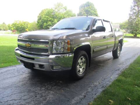 2012 Chevrolet Silverado 1500 for sale at SUMMIT TRUCK & AUTO INC in Akron NY