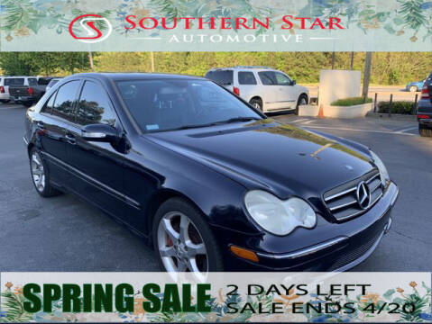 2007 Mercedes-Benz C-Class for sale at Southern Star Automotive, Inc. in Duluth GA