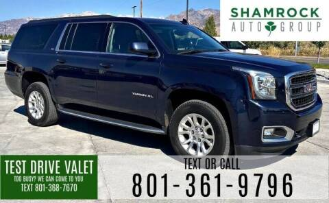 2019 GMC Yukon XL for sale at Shamrock Group LLC #1 in Pleasant Grove UT