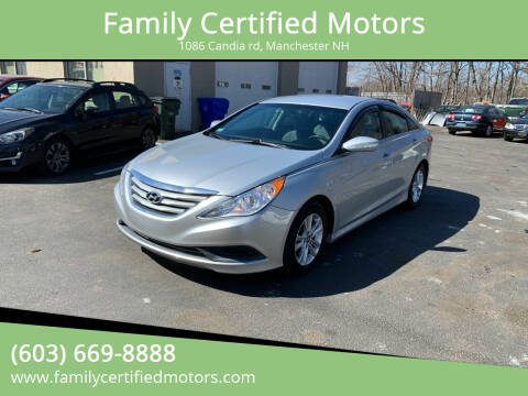 2014 Hyundai Sonata for sale at Family Certified Motors in Manchester NH