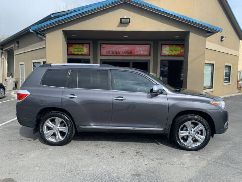2011 Toyota Highlander for sale at Advantage Auto Sales in Garden City ID