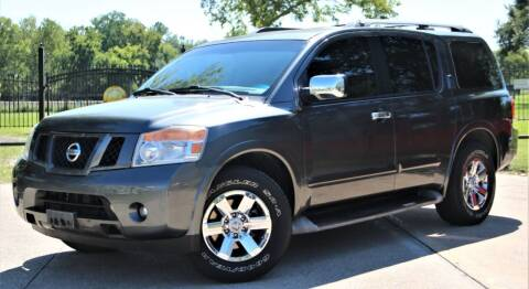 2010 Nissan Armada for sale at Texas Auto Corporation in Houston TX