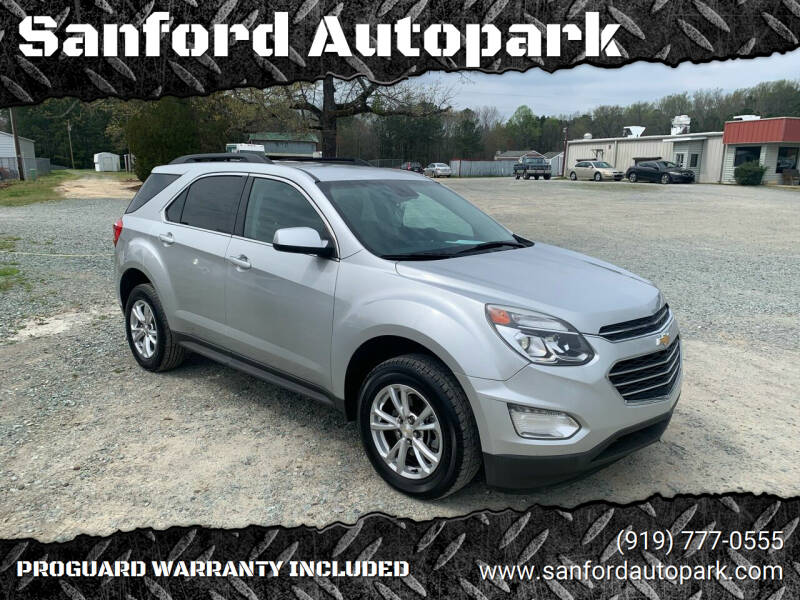 2016 Chevrolet Equinox for sale at Sanford Autopark in Sanford NC