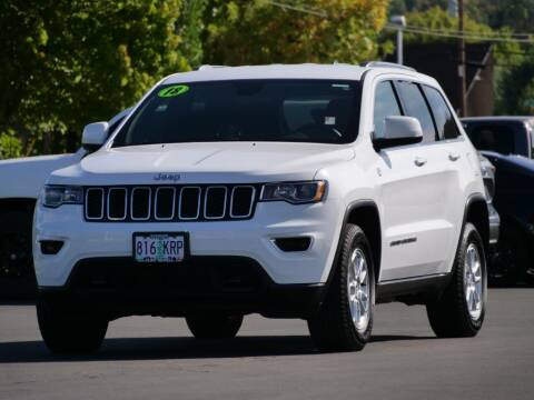 2018 Jeep Grand Cherokee for sale at CLINT NEWELL USED CARS in Roseburg OR