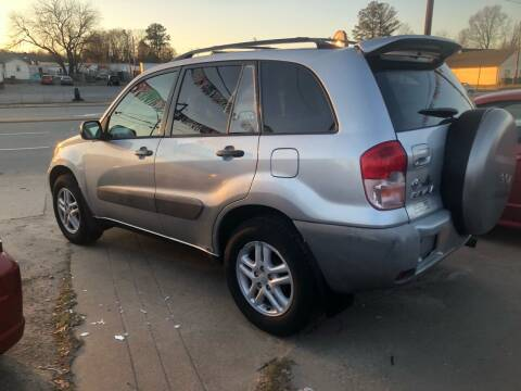 2001 Toyota RAV4 for sale at AFFORDABLE USED CARS in Richmond VA