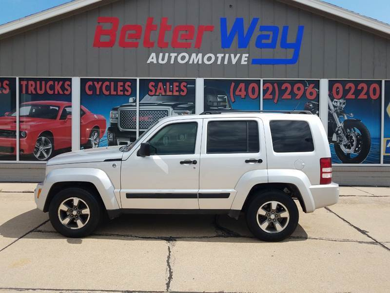 2008 Jeep Liberty for sale at Betterway Automotive Inc in Plattsmouth NE