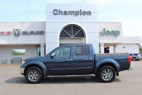 2019 Nissan Frontier for sale at Champion Chevrolet in Athens AL