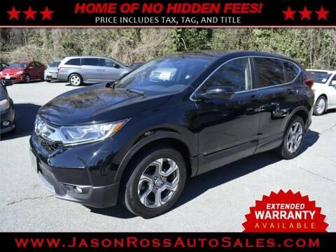 2018 Honda CR-V for sale at Jason Ross Auto Sales in Burlington NC