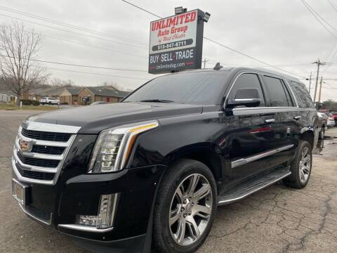 2016 Cadillac Escalade for sale at Unlimited Auto Group in West Chester OH